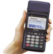 モバイル型クレジットカード端末機JT-H40